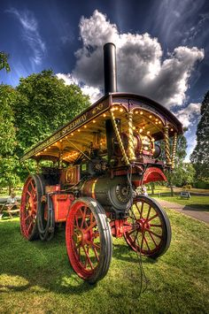 Steam Traction Engine, Beaulieu My reason for visiting County Shows Great days out