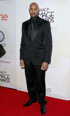 Henry Simmons attends the 46th NAACP Image Awards presented by TV One at Pasadena Civic Auditorium on February 6, 2015 in Pasadena, California.
