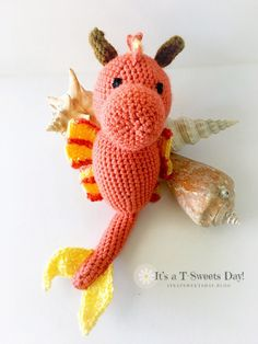 Sandy the Sea Dragon – It's a T-Sweets day!
