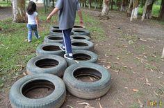 brincar ao ar livre - pneu                                                                                                                                                                                 Mais