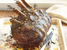 Beef Rib Roast with Rosemary