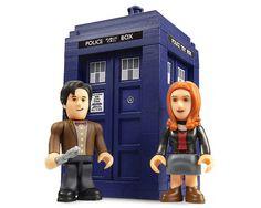 Набор мини-фигурок Доктор, Эми Понд и Тардис