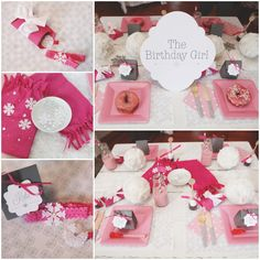Gray And Pink Girls Winter Birthday Party Ideas Im Totally Going To Need This With My Little One Coming December