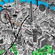 cool Art Map London