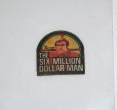 "Vintage Kenner Six Million Dollar Man Shirt Patch for 13"" Action Figures | eBay"