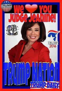 """""""It's time to stop being politically correct and start being morally right before we lose every semblance of the civilized society that we fought so hard to create. There are Jihadis out there who want to kill us. We can no longer be polically correct."""" ~ Jeanine Piro ~ Trump 2016 ~ RADICAL Rational Americans Defending Individual Choice And Liberty"""