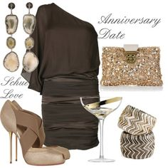 """Speechless... I want EVERY single thing in this clothing """"mood board""""... and I can think of 50 thousand times I could wear it- dates, anniversaries, cocktail parties, Christmas parties, weddings, engagement parties... stunning!!!!!!!!!!!!! - Click image to find more Hair & Beauty Pinterest pins"""