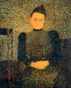 Portrait of Marie Vuillard ~ Edouard Vuillard - 1890