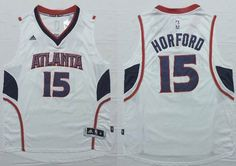 Atlanta Hawks 15 Al Horford New Revolution 30 Swingman white Jerseys