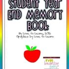 This free download contains a 12-page year end memory book for students. The book comes in both color and black and white.Great keepsake for stud...