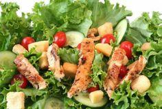 Grilled Chicken Salad   Trim Down Club