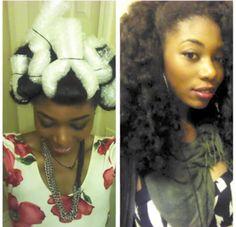 Heatless Curls Using Bubble Wrap? - BGLH Gallery