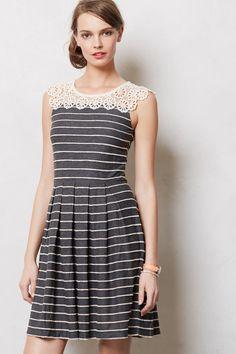 Stripewave Dress - Anthropologie.com