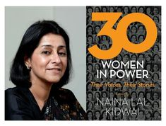This extract from 30 Women in Power by Naina Lal Kidwai has been published with permission from Rupa Publications.
