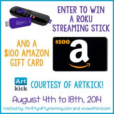 Enjoy FREE Artwork in Your Home with Artkick Art App, Plus Enter to Win a Roku Stick & $100 Amazon Gift Card!