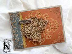Card: Autumn Card 2 w/ Core'dinations **Sizzix DT**