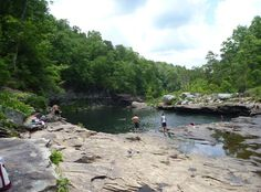 10 Most Beautiful Natural Swimming Pools in the World-Little River Canyon, Alabama