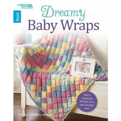Dreamy Baby Wraps from Leisure Arts presents nine knit designs in the Best of Mary Maxim collection of baby afghans to treasure. Designs include Ribbed Shells Blanket, Lovey Baby Blanket, Rainbow Entrelac Blanket, Double Hearts Blanket, Garter and Slip Stitch Blanket, Striped Cables Blanket, Cables Go Round Blanket, Sweetheart Lace Blanket, and Little Blossoms Baby Blanket. Designs are knit using a variety of yarn weights, from super fine to medium. Skill levels are mostly Intermediate, with…