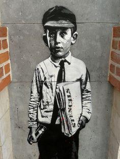 Street Art in Brussels