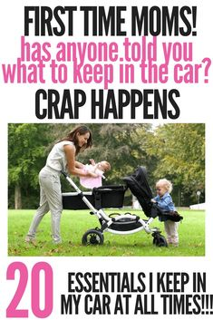 Car trips and errands with kids require preparation. As a Mother, we can have a car kit for the unexpected and keep your newborn, toddler and kids happy.