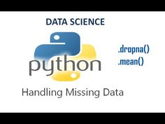 "This video shows how to drop the missing values in a column using ""dropna()"" method and also calculating the mean of the column in a dataset using the "".mean()"" method."