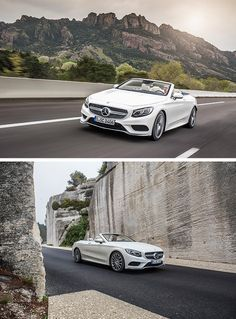 Distinctive. Sensual. Exclusive. No matter where you drive, the Mercedes-Benz S-Class Cabriolet is always an eyecatcher.