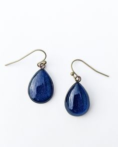 These lovely teardrop shapes are the most popular in my range. They are made of brass that has been darkened to an antique finish. They hang from brass ear hooks.The teardrop is 18mm x 13mm and... Teardrop Earrings, Hooks, Range, Brass, Jewellery, Popular, Shapes, Antiques, Beautiful