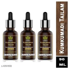 Men's Grooming Haria Naturals 100% Pure Kumkumadi Tailam For Radiant Skin For Brightens, Healthy & Glowing Skin  30 ml (pack of 3) 90ml Product Name: Haria Naturals Kumkumadi Tailam Oil For Skin Multipack: 3 Country of Origin: India Sizes Available: Free Size *Proof of Safe Delivery! Click to know on Safety Standards of Delivery Partners- https://ltl.sh/y_nZrAV3  Catalog Rating: ★4.1 (440)  Catalog Name: Haria Naturals 100% Pure Kumkumadi Tailam For Radiant Skin For Brightens Healthy & Glowing Skin CatalogID_1016600 C51-SC1662 Code: 404-6391658-
