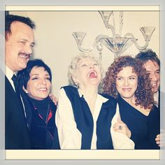 Tom Hanks, Liza Minnelli, Elaine Stritch, Bernadette Peters and Martin Short come together for the first of Elaine Stritch's final few shows at the Carlyle, 2013 New York Broadway, Broadway Shows, Martin Short, Bernadette Peters, Liza Minnelli, Judy Garland, Tom Hanks, I Fall In Love, Her Hair