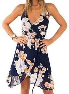 Women's Spaghetti Strap Backless Floral Print Mini Dress ... https://www.amazon.com/dp/B01GEY2NA0/ref=cm_sw_r_pi_dp_x_UTEtybKR6XHQ7