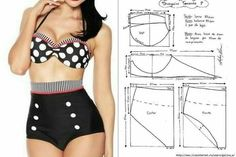 Swimsuits - Swimwear Bikinisdemoda Tendencies from Modadeplaya - Bikinis Bikinisdemoda Tendencies from Modadeplaya Fits . Underwear Pattern, Lingerie Patterns, Sewing Lingerie, Dress Sewing Patterns, Clothing Patterns, Swimsuit Pattern, Bra Pattern, Diy Clothing, Sewing Clothes