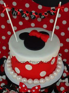 Minnie cake   Flickr - Photo Sharing!