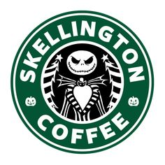 Check out this awesome 'Skellington+Coffee' design on TeePublic! http://bit.ly/1plPbao I so need this shirt