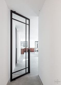 Create timeless masterpieces with our popular crittall style pivot doors, fixed partitions and sliding doors. Decor, Home, Pivot Doors, House Design, Interior, Door Design, Internal Glass Doors, Glass Doors Interior, House Interior