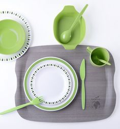 Plastic tableware #roltex @ verrax #table #plastic #tray #musthave #color