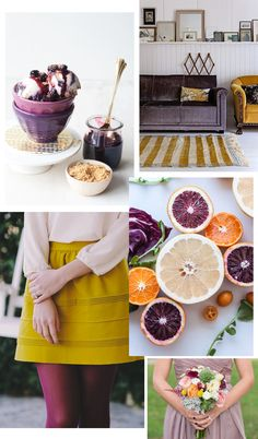 Color crush: Purple & gold