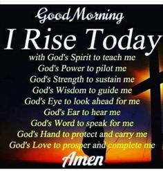 ideas quotes good morning love christ for 2019 Good Morning Images, Good Morning Love, Good Morning Messages, Morning Pictures, Today Pictures, Beautiful Morning, Good Morning Inspirational Quotes, Inspirational Prayers, Good Morning Quotes