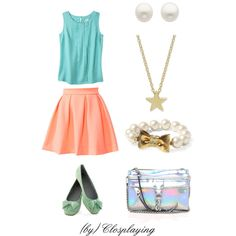 """Pearl (Steven Universe) Closplay"" by closplaying on Polyvore"