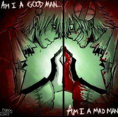 immmm a mad man ^3^ haha #soul eater