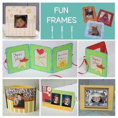 Are all your pictures on your phone or computer. Here are some great ideas on how to create frames to display your pictures.  I hope they inspire you to make some frames of your own and get those photos out of your phone and into your home. #diyhandmade #photoframes