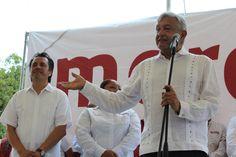 """Andrés Manuel López Obrador se presentará en próximas fechas en la zona sur del estado de Veracruz, como parte de su gira presentando la conferencia colectiva """"Situación Socioeconómica y Política d…"""