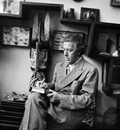 André Breton French writer and poet, Surrealism founder, 1950 // photo by Boris Lipnitzki Writers And Poets, Writers Write, Andre Breton, People Reading, Chaim Soutine, Book Writer, Portraits, Playwright, Tribal Art