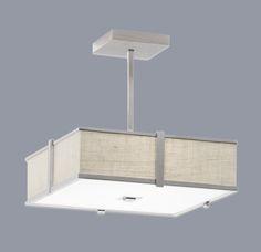 Metropolitan Lighting Fixture Co.: Hatbox Square Lighting Pendant