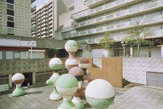 Les Damiers Complex (a ser demolido), Courbevoie, Francia - J. Binoux + M. Folliasson + Abro + Henri Kandjian - © Anthony Saroufim