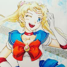 Sailor moon copic