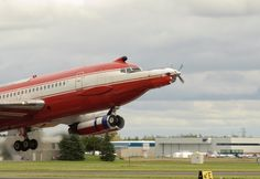 PT6 on Boeing 720 flying test bed