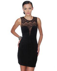 Lowrider Little Black Dress on Wanelo