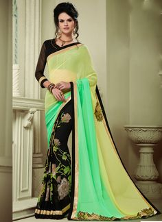 Buy georgette-patch-work-party-wear-saree-multi-colour-1608 through Online…