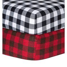 Trend Lab Checkered Flannel Crib Sheet   Overstock™ Shopping - Big Discounts on Trend Lab Baby Bed Sheets
