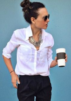 Lilith Buttondown by Cloth & Stone | Pinned by topista.com